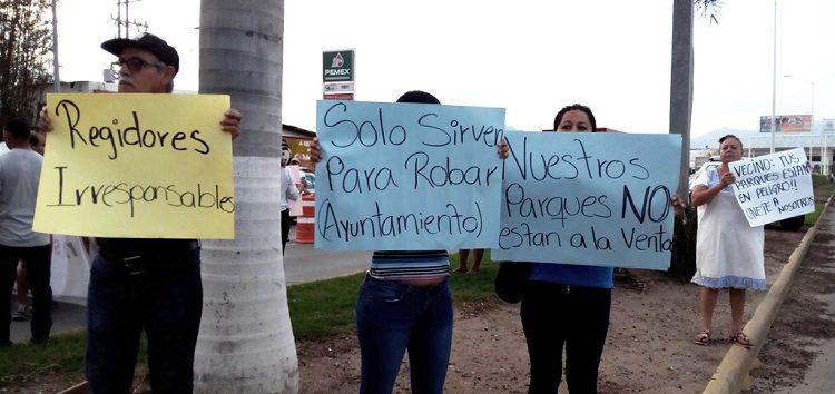 Vecinos indignados porque de13 terrenos en dación de pago, 6 corresponden a Las Ceibas