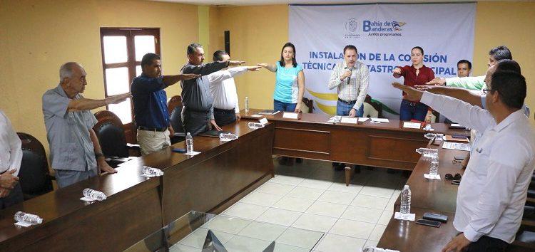 Instala Jaime Cuevas la Comisión Técnica de Catastro Municipal