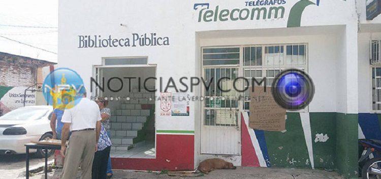 Cierran Telégrafos de México en San Juan de Abajo