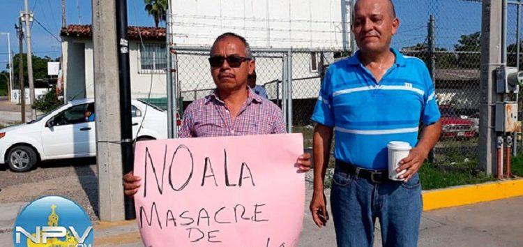 Amenazaron a Alonso Cortés, para que desistiera de manifestación contra Vidanta