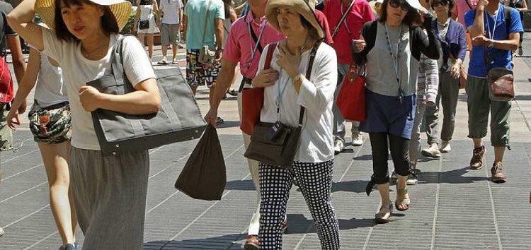 Disminuyó 13.1 por ciento la llegada de turistas extranjeros