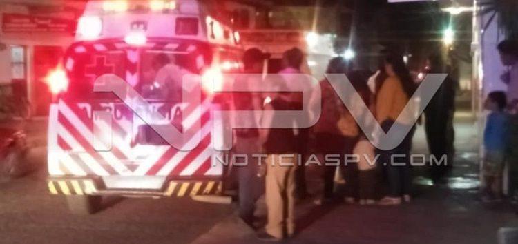 Alertan a paramédicos por persona inconsciente en San Vicente