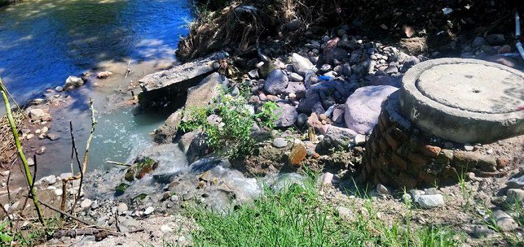 Desde hace 20 Años registro de aguas negras contamina dren y río Ameca