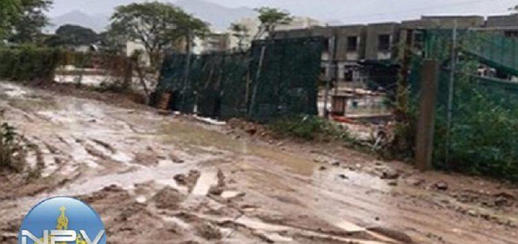 Empresa Maralta bloqueó 5 cuadras y mantiene sucia área