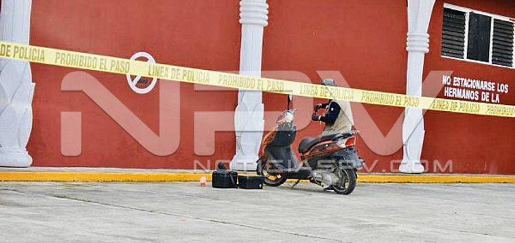 Localizan la motocicleta  del periodista ejecutado