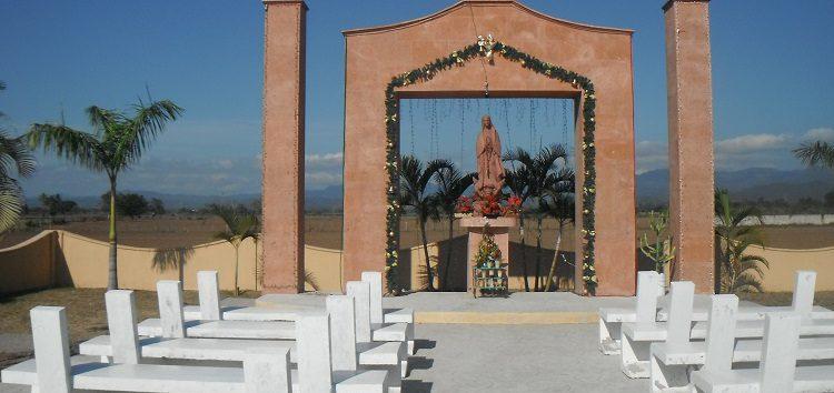 """Remozan capilla de nuestra señora de """"Guadalupe"""" en San Juan de Abajo"""