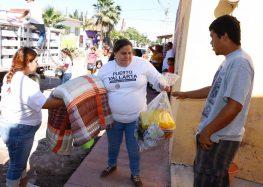 Lleva DIF Vallarta más apoyos a familias de Nayarit