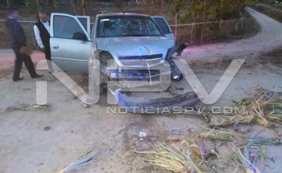 Madre e hija lesionadas  tras chocar con un tractor