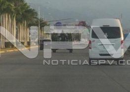 Operativo en Valle Dorado  de Marinos y Federales