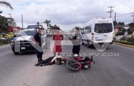 Atropellan a anciano  en San José del Valle