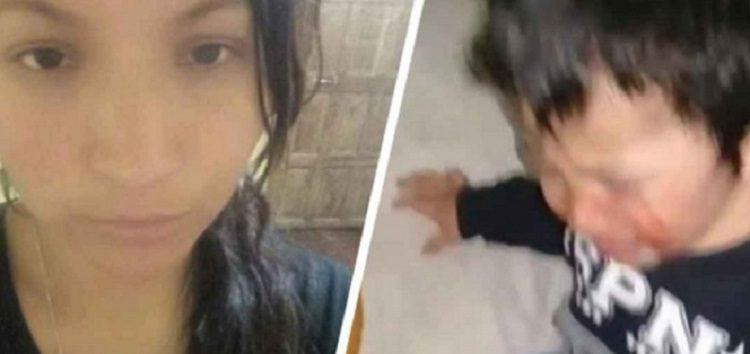 Argentina: Mujer golpea a su hijo y manda el video a su ex marido