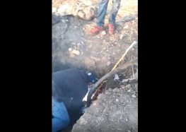 Presuntos huachicoleros difunden videos de perforación a ducto de Pemex