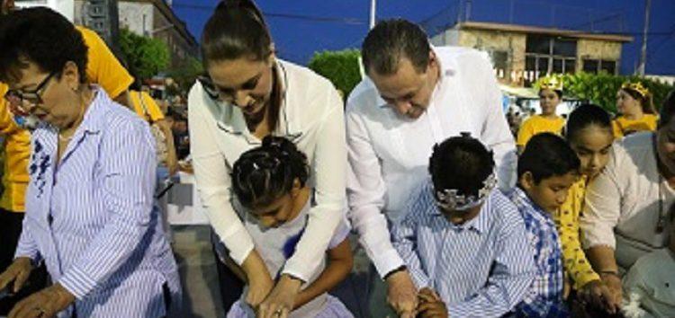 Lleva DIF alegría a niños de Bahía de Banderas