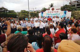 Antonio Echevarría y Jaime Cuevas escucharon a La Jarretadera